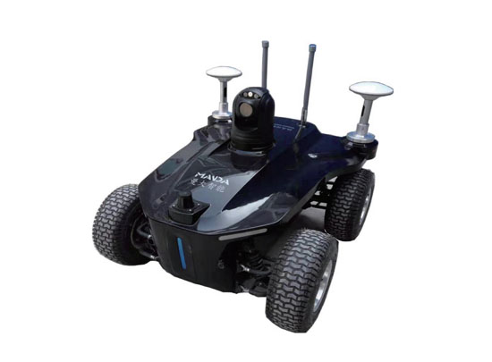 title='曼大智能:智能轮式巡检机器人'