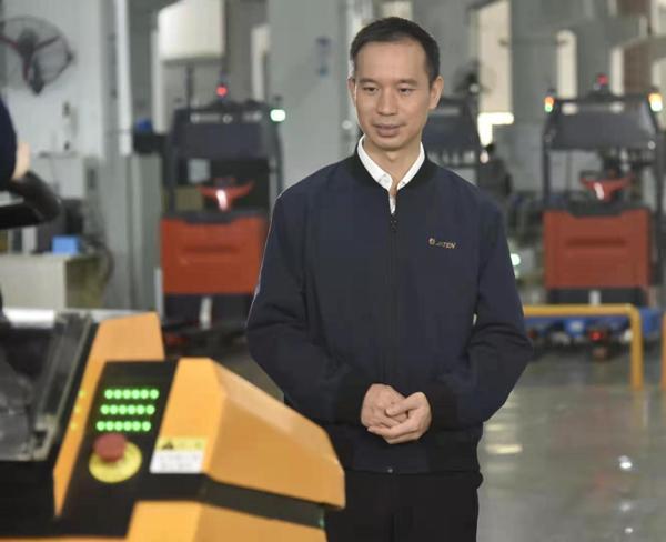 嘉腾机器人联合创始人、董事、副总裁:陈洪波